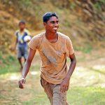 Junge beim Spiel Sri Lanka